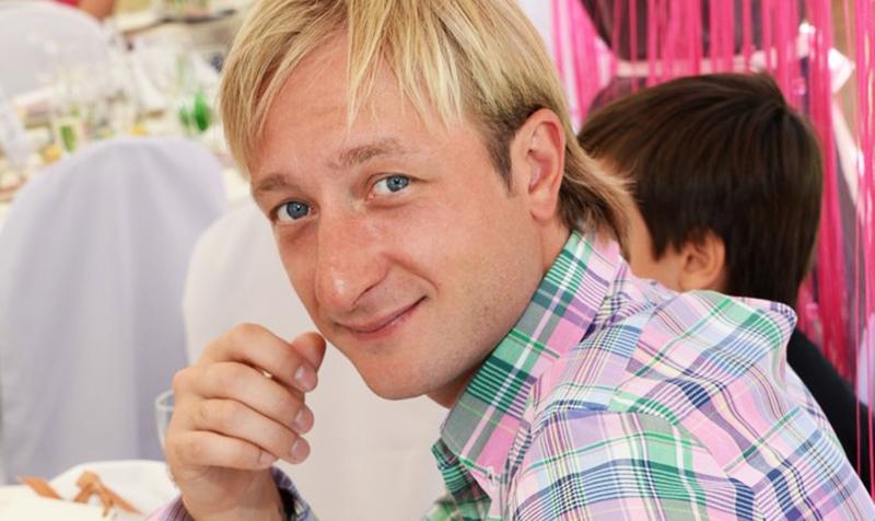 Евгений Плющенко длинный нос