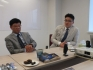 Профессор Да Хен Ли и доктор Мин Хи Хон