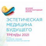 «Эстетическая медицина будущего. Тренды-2021»