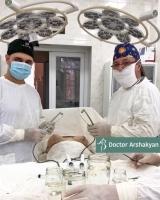 Вардан Аршакян и Казбек Кудзаев первыми в мире провели подтяжку груди Breast Tite в 4 руки